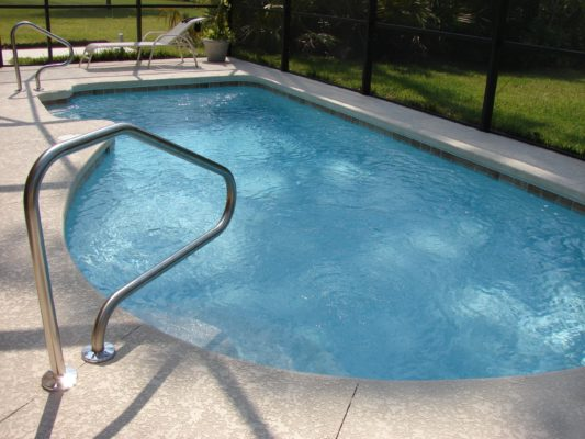 pintar la piscina
